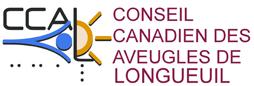 Logo du Conseil canadien des aveugles de Longueuil