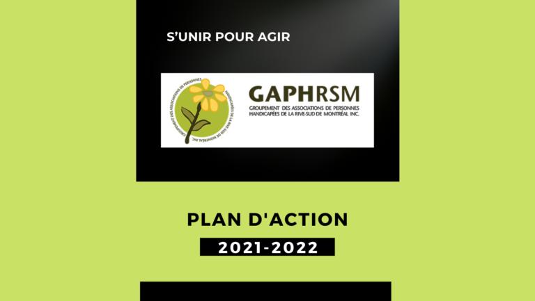 PLAN D'ACTION 2021-2022